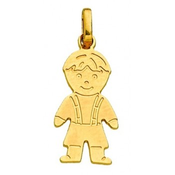 Gold Boy Pendant
