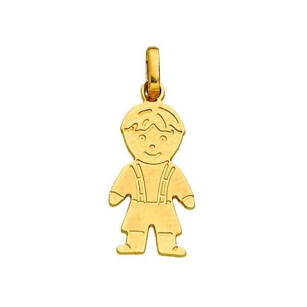Gold Boy Pendant