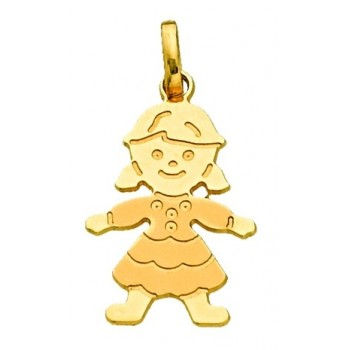 Gold Girl Pendant