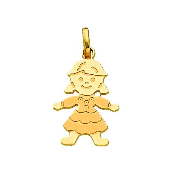 Gold Girl Pendant