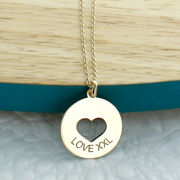 """Engraved Necklace """"My Sweetheart"""""""