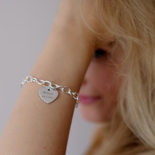 """The Loves of My Life"" Engraved Bracelet"