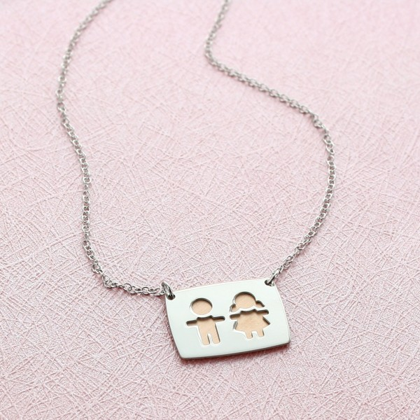 """""""My Little Angels"""" Necklace"""