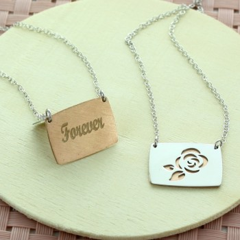 "Personalised necklace ""My Pretty Rose"""
