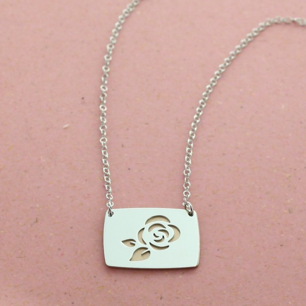 """Personalised necklace """"My Pretty Rose"""""""
