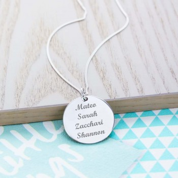 "Personalised Charm 1"" (2.5cm) Necklace"