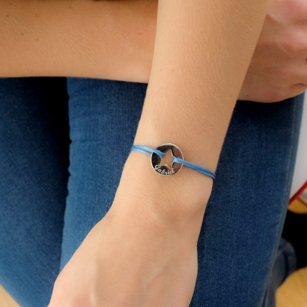Liberty bracelet with Personalized Star