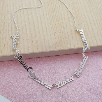 Nameplate Necklace on Chain
