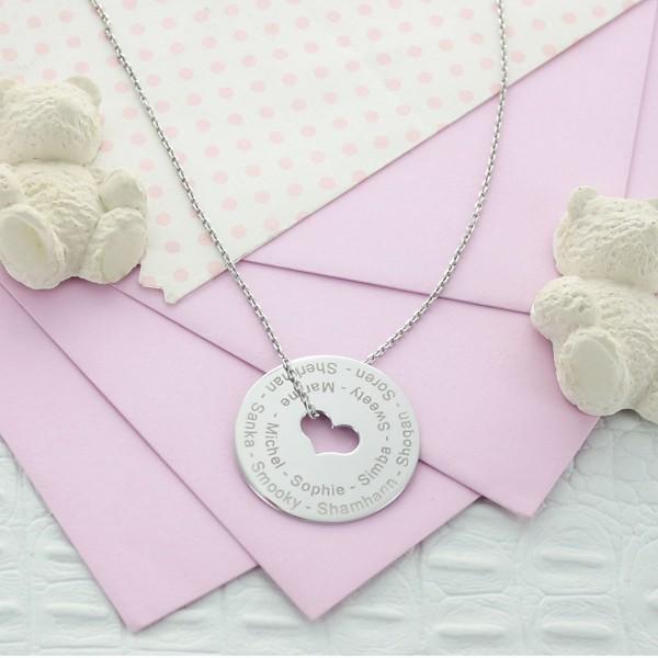 Heart Necklace especially for Teacher/Grandma
