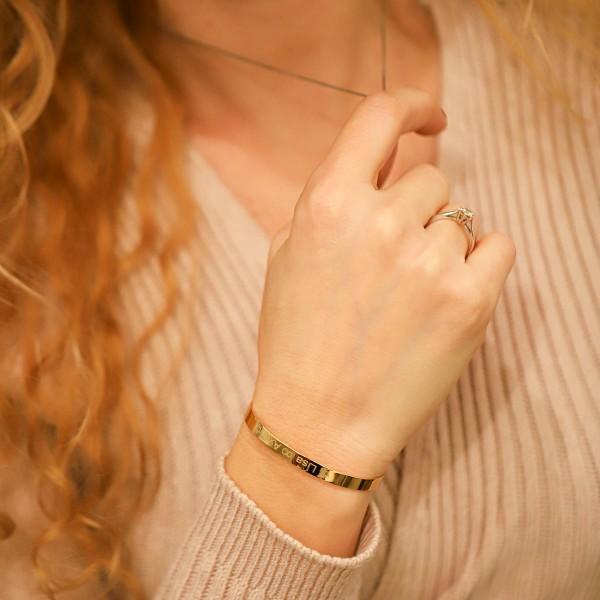 Personalized Bangle Bracelet