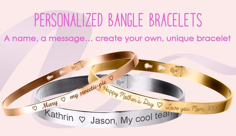 Bangles to engrave