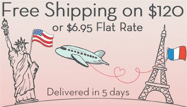 Free Shipping on orders over $ 120